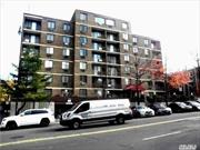 Walk to LIRR and 7 train.  parking included. Huge 2 bed with balcony.