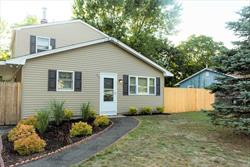Move right into this beautifully renovated 1700 square foot house on a quiet street in the private community of Lake Panamoka! High vaulted ceiling on the second story, new siding, new fencing, new shutters, new floors, new paint, and much more! Close to Tanger Outlets, Splish splash, and more! IT'S A MUST SEE!!!