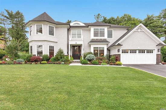 Roslyn Heights. *Better Than New* Beautiful Cedar & Stone Colonial in The Heart of Roslyn Heights Country Club. Featuring 6 Bedrooms and 5.5 Bathrooms with Ozone Heated Pool. Grand Entry Foyer with Open Floor Layout Leading To Formal Living room, Family Room, Formal Dining Room, Chef's Kitchen w/ Marble Counter Top. Maid's Room w/ Full Bathroom. Master Suite With 2 Walk in Closets. Finished Basement. Natural Light Throughout. Don't Miss Out!