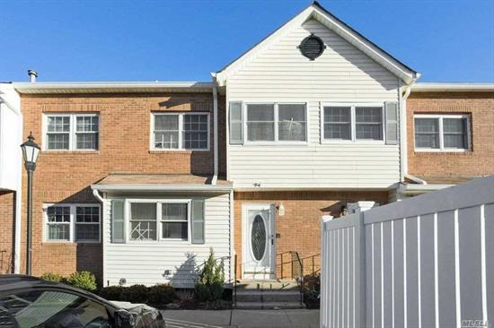 Close To LIRR Shops & Parks. Full Basement & Attic. 2 Parking Spots Included. Community Pool. Very Desirable and Quiet Complex. A Very Generous Living Space And Stylish Finishes, You'll Feel Right At Home. This Condo Is A Must See !