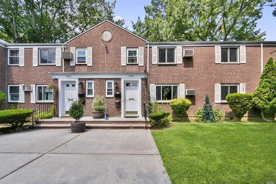First Floor H-Model Co-Op in Glen Oaks Village With Open Eat In Kitchen, Living Room, Three Bedrooms OR 2 Bedrooms with Dining Room and One Full Bath. Close To All NYC Transportation Trains, Bus & Express Bus.