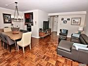 Renovated Large One Bedroom Deluxe, Closets Galore , Dining Room (Can Be Used As A Den Or Office). Jacuzzi Bath, Living Rm., Oversized Bedroom, Spectacular View Of The Bridges, The Bay & The Manhattan Skyline. 24Hr.Doorman/Security.State Of Art Gym.Shopping Arcade W/ Restaurant/Deli/Grocery Store. Beauty Spa, Pool, Gym & Tennis.Close To All Shopping And Transportation. Total Maintenance. $ 1437.63 Including Taxes. Garage Xtra