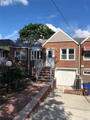 Fully Renovated Att Brick Single Family Hom, Can Be Use As A Mother Daughter, Large 5 Bedroom 2 Full Bath, Huge Living, Formal Dining Room, New Eik, Full Finished Basement . All New Stainless Steel Appliances, New Hardwood Floors, New Kitchen & Bath. Pvt D/Way Indoor Garage