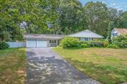 Hurry! Well Maintained Buckingham Ranch! Two Car Garage! Two Year Old Heating system & hot water heater. Gorgeous Private Yard! Enjoy being close to Stony Brook University, Beaches, Museums & Port Jefferson Village. Fabulous Three Village School District.