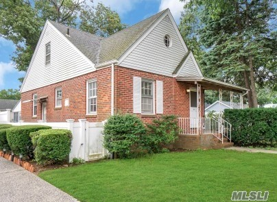 3 bedroom 1 bath Cape in Westwood section, wood floors, gas heat, fenced yard, large detached garage, convenient to all. near Fireman's Field, Westwood LIRR, Wheeler Ave Elem Central JHS/HS