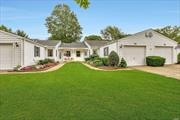 The Knolls is a desirable Active Adult Community offering many amenities including Clubhouse Library Pool Bocce Ball Shuffleboard Card Rm & more.This Sweet Dogwood Unit features 2 BRs 2 Full bths EIK LR/DR combo Florida Rm w/skylight lots of storage inside access to garage w/auto door opener freshly painted. HVAC installed 9/2019 under warranty for 3 years labor 10yrs parts&10 yrs compressor.Taxes w/enhanced star exemption $2023.58. HOA fees incl water cable landscaping snow&garbage removal.