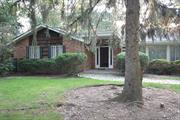 Nice Exp Ranch with 3 or 4 br, 4 full baths, Formal Dr, Huge Lr, Family room, Laundry room, 1fireplace, 4 skyligth,  Jacuzzy and Sauna. Granite Inground pool, Tennis Court, Full Basement with OSE., Huge parking.