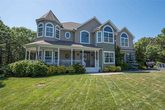 Exquisite Victorian Home On Cul-De-Sac. Built In 2010 This Home Features A Gourmet Kitchen W/ Island, Butler's Pantry, Granite, S.S. App, Double Oven. Formal Dining Room W/ Tray Ceilings. Living Room, Great Room W/ Fire Place. Mud Room W/ California Closets. Office. Master Suite/Bath. 4 Additional Bedrooms. Beautiful Crown Molding And Surround Sound Throughout House. Alarm System. Full Finished Basement W/ Outside Entrance. Backyard Oasis W/ Built-In Pool, & Jacuzzi. 2 Car Garage.