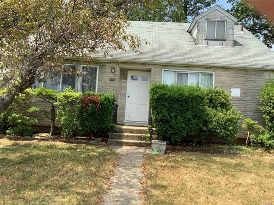 Nice corner property. Needs TLC. Short Sale, subject to 3rd party approval. Offers submitted with proof of funds only Much potential