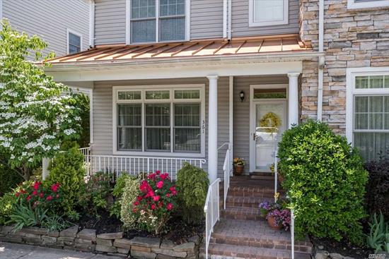 Stunning Townhouse. Completely remodeled. Beautiful Gourmet Kitchen with Saturnine Marble Floor. Sub Zero Refrigerator; 100 Bottle Wine Storage. Wolf 5 Burner Stove; Double Ovens and Double Dishwasher. Large Living Room w/Cherry Wood Floors. Heated Floors in Kitchen and Bathrooms. Master Bedroom is located on the first floor. Two large Bedrooms on the 2nd floor. Nice Loft area which is presently used as an office. Over 55-Gated Community.