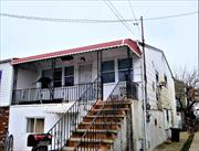 Great Duplex sits on 2, 550 square feet located in the Arverne neighborhood in Far Rockaway. Approximately 4 blocks from the beach. Fully occupied. 1932 square feet of living space with 5 bedrooms/ 3 bathrooms. Built in 1940. Nearby schools include Ps Ms 42 R Vernam School, Goldie Maple Academy School and Queens High School. Nearby restaurants include China King, Boardwalk Pizzeria and Goody's