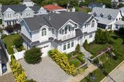 Magnificent Custom Built Home w/10Ft Ceilings, 7 Years Young, Ocean Views, 6 Brs, 5 1/2 Baths, 2 Fire Places 1Gas 1 Wood Burning, Master Bedroom EnSuite With Gas Fire Place Large Walk-In Closet & Ocean Views From Veranda, Radiant Heat In Master Bath, Jr. Master Ensuite Bedroom w/Walk In Closet, Finished Basement With Bedroom & Full Bath, Gas Generator & French Drain, 5 Zone Heat & AC, Brazilian Hardwood Decking, Heated Saltwater Pool