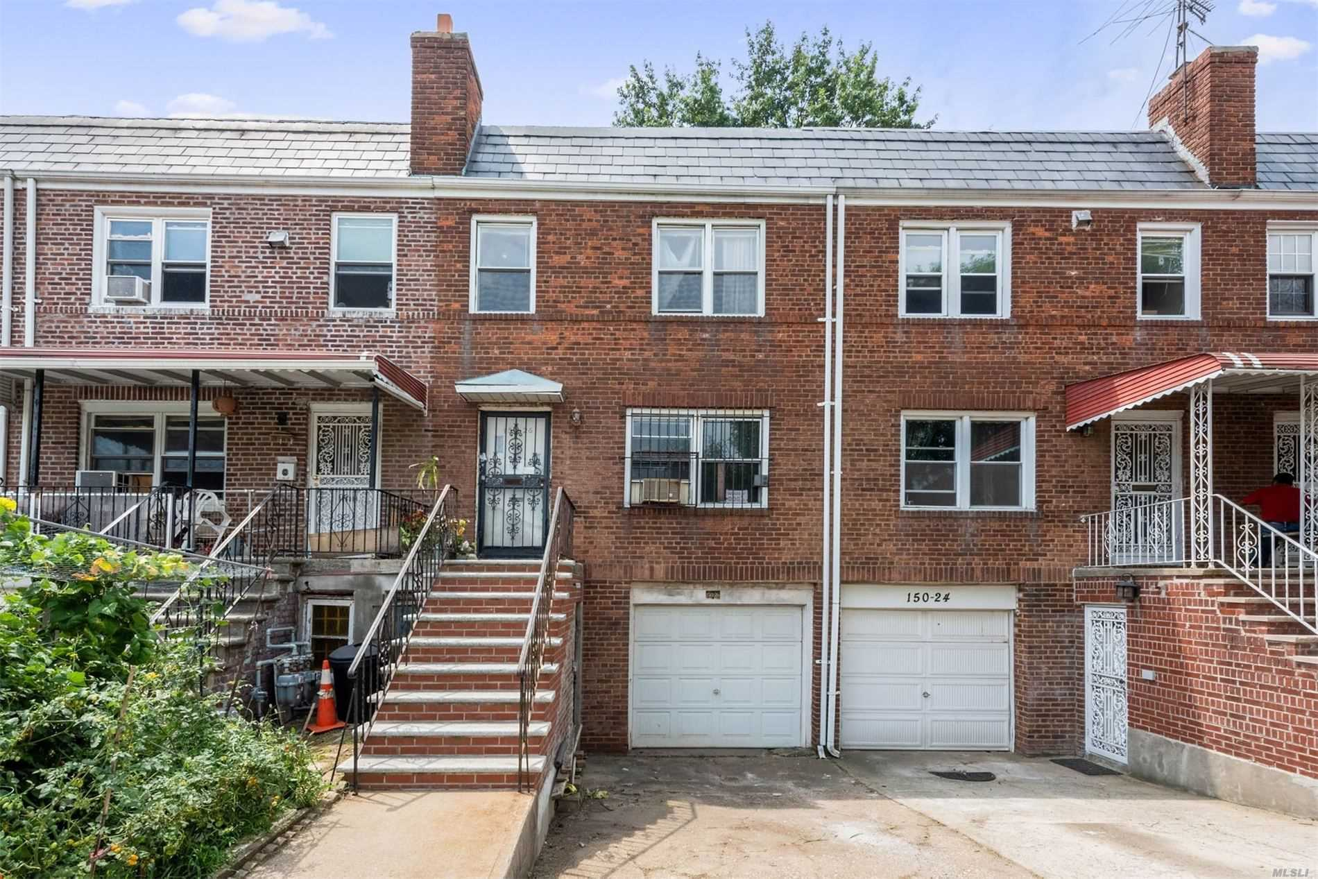 If you're looking for a multi-family in one of the best locations in Flushing, you must consider viewing this 3 Storied 2-Family home features the 1st floor and 2nd floor as a duplex apartment and the 3rd floor has a large Bedroom, Living Room, Eat in Kitchen and a Full Bathroom. Comes with an attached car garage and a yard that you can enjoy with your family! Walk to Kissena Blvd. Yearly property tax is only $3, 209.84.