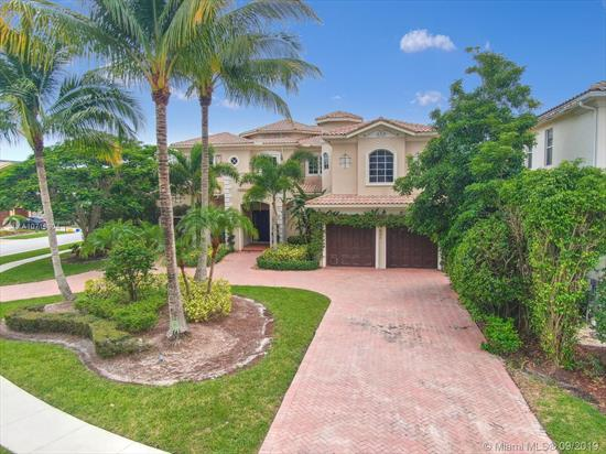 Just Reduced! Exquisite Estate In Boca Raton, In The Heart Of Palm Beach County. Private Community With Many Amenities, Large Corner Lot And Over 8, 000 Sq. Ft. Of Total Construction. Tastefully Built In 2006, This Property Won'T Last At This Price. Bring Your Pickiest Buyers! 3 Car Garage, Pool And Hot Tub. Lush Landscape And More! Hoa Fees Not Accurate On Listing, Subject To Change When Hoa Provides Right Amount.