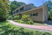 Don't dismiss because of busy road address. House sits back 400ft. from road on 1.38 acre. It's very private and very quiet. W Great in ground gunite heated pool with Whirlpool. Property includes second house with 6 car garage. Buy one house at the regular price, get one free!!! Very private property. Come take a look at this awesome family compound. Potential $4, 000 tax grievance relief.