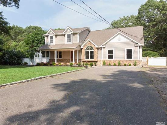 Beautiful Colonial W/Lots Of Privacy. Features 5 Large Bedrooms, 3 Full Baths, Lg Eat In Kit, Formal Lr, Formal Dr, Full Finished Basement, Large In-ground Pool W/Brand New Liner, Plenty Of Room For Mom W/ Proper Permits, Country Club Backyard on Over 1 Acre Of Secluded Property.