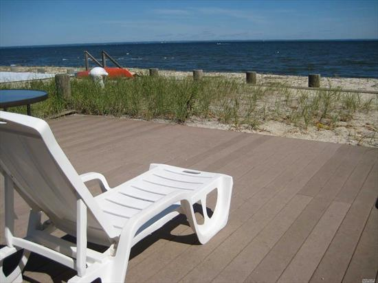 GREAT LOCATION -COMFORTABLE HOME-FURNISHED-NO PETS, NO SMOKING-AVAILABLE AFTER LABOR DAY(NO AIR CONDITIONING) HOME IS ON LONG ISLAND SOUND-TENANT RESPONSIBLE FOR YARD MAINTENANCE AND SNOW REMOVAL-GAS HEAT *** RENTAL IS FOR 10 MONTHS SEPTEMBER THRU JUNE ONLY***