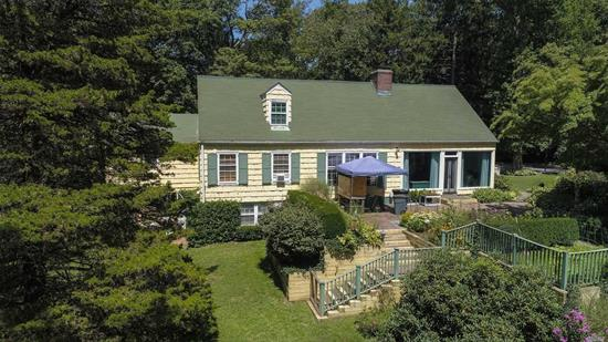 Oyster Bay Cove rental on 3.35 private acres- Beautifully maintained main home on an estate- unique rental opportunity!! Berry Hill Elementary, Southwoods Middle School & Syosset High School- Beautiful quiet & serene lot with view of horses and stables....a long island retreat!
