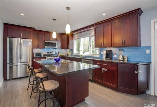 Beautifully Updated Exp. Cape On A Very Quiet Cul De Sac. Great Location/Accessible To All, 4 Bed, 2 Full Bath, Dr/Lr, Family Room/Play Room, Office, Gourmet Kitchen W/ Granite & SS Appliances, Hardwood Floors, IG Sprinklers, Award Winning School #4. Brand New Roof, Front Siding & Windows & Much Much More (too much to list), ***Home is Currently Under Construction- Still Time To Customize!