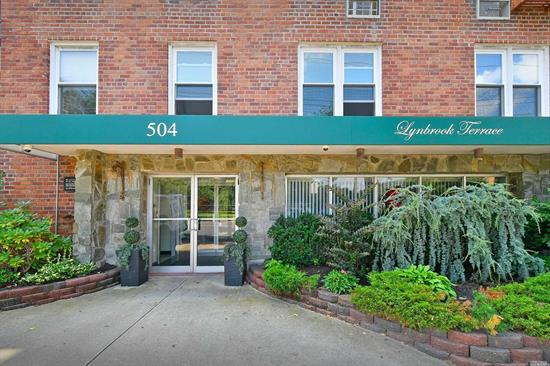 Why rent when you can own! Find your way home to this sweet perfection showcasing a fully renovated bathroom with imported marble tiles/jacuzzi tub and updated kitchen, king sized bedroom with his and hers closet, bright and spacious living room. Conveniently located just blocks away from LIRR, village area filled with local shops and a variety of restaurants, Lynbrook middle and high school. Bonus garden terrace with BBQ area, bike room, holistic wellness center (not included in maintenance).