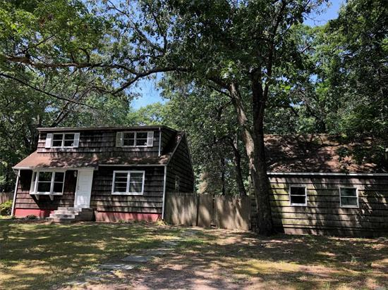This is a double lot listing with plenty of space for expansion. Great opportunity for investors. Move in ready 3 bedroom, 2 bathroom house with a bedroom on the first floor and sliding doors from the kitchen that leads to a huge deck. This is an oversized property. The additional lot is Block 5, lot 8. district 200. .25 acres, additional tax for this lot is $399.23.
