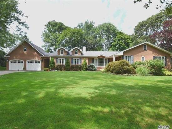 Come See One Of The Best Kept Secrets On Long Island. Quiet & Quaint Neighborhood With Oheka Castle & Private Cold Spring Hills Country Club As Backdrop. Impeccable & Pristine Home In The Heart Of Cold Spring Hills. Open Concept & Great Flow For Entertaining All On Single Floor. Walk To Oheka Castle. Home Backs 9th Hole Of Golf Course. One Of The Best Views Of The Golf Course. Backyard Is Entertainer's Delight. Inground Salt Water Heated Pool, Koi Pond & Outdoor Kitchen. Must See to Appreciate