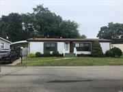 55+ MANUFACTURED HOME COMMUNITY GLENWOOD VILLAGE, THIS RANCH HOME IS LOCATED IN THE CIRCLEWOOD SECTION WITH A PRIVATE BACKYARD, PATIO, SHED, FLORIDA ROOM & CARPORT - HOME FEATURES 2 BEDROOMS, 2 BATHS, LR/DR, DEN, & UPDATED KITCHEN- INCLUDES APPLIANCES, NEEDS NEW C/A/C UNIT.  $564 PER MONTH -INCLUDES WATER, GARBAGE REMOVAL, USE OF CLUBHOUSE, OUTDOOR PARK, SWIMMING POOL, SEPTIC, CURBSIDE MAIL DELIVERY, & MAINTENANCE OF ALL ROADS, STREET LIGHTS & COMMON AREAS.