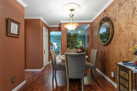 Beautiful, Clean, Desirable Second Floor Unit In The Woodlands @ Islip. Bedroom With Walk In Closet. Large Deck Off of Living Room. Maintenance Includes Taxes, Heat, Water, Gas, Sewers, Ins On Bldg, Pool & Life Guard, Bldg Maintenance, Sanitation, Landscaping, Snow Removal.Pet Friendly!Nearby Shopping, Train & Beaches. Well-Maintained Community!