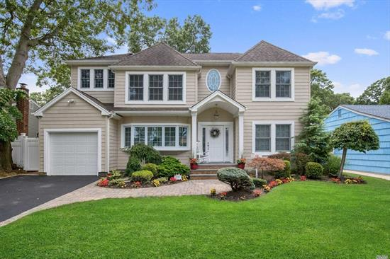 THIS NEW GEM IS MAKING ITS FIRST DEBUT, COME SEE IT SHINE BEFORE ITS GONE!!! THIS EXQUISITE 4 BDRM 2.5 BTH COLONIAL INCLUDES 2, 780 SQ. FT. OF TASTEFUL LIVING SPACE. THIS ELEGANT HOME BOOSTS A GOURMET KITCHEN WITH GRANITE COUNTERS & SS APPLIANCES, FAMILY RM W/VAULTED CEILING, SKYLIGHTS, & SLIDERS TO THE BACK DECK, OVERLOOKING A LUSH, FENCED IN YARD. THIS HOME ALSO FEATURES A FULL FIN BSMT BEAUTIFULLY DONE W/RECESSED LIGHTING AND WOOD TILE FLOORS, GARAGE, CAC, & SO MUCH MORE MAKE THIS GEM YOURS!!!!
