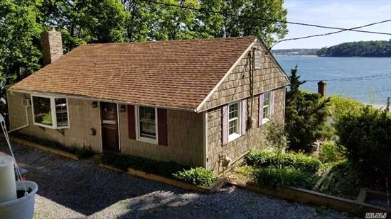 Desirable Property, End Location With Parking. Spectacular Water Views Overlooking Hempstead Harbor And LI Sound. Waterfront Community. Completely Renovated! Amenities Include A Private Beach, Dock W/Slips, Winter Storage And Mooring Rights. 30 Minute Commute To Penn Station. Large Trex Deck. Must Truly See To Appreciate!