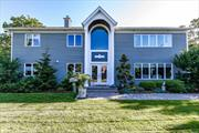 This 4 Bed, 3 Bath Modern & Spacious 2, 550 SqFt Entertainer's Colonial Starts With A 2 Story Open-Entry Foyer, EIK, Great Room, Dining Room, Office, Waterviews, HW Floors Up & Down, CAC (2 zones), Gas Fireplace, Elevator, Navien High Efficiency Gas Boiler, 200 Amp, Oversized 2 Car Detached Garage & Terrific Rear Patio All w/Taxes Of Just $14, 267.38 After Star...Come See For Yourself