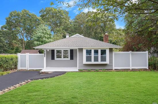 Built By One Of The Best Builders Long Island Has To Offer, This Fully Renovated Ranch Features 3 Bedrooms & 1 Full Bath! New Driveway, New Roof, New Siding, New Walls, New Floors, New Plumbing, New Electric, New Heating/Cooling System, New Kitchen, New Bathroom, New Everything! Central AC/Heat & Beautiful Floors Throughout. This House Is Built To Last A Life Time And Priced To Sell Fast! Come Experience What It Is Like To Live In 2019 Re-Built Home! MUST SEE!!!