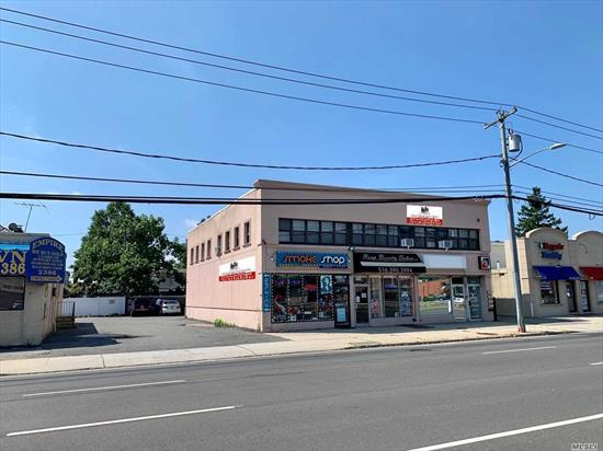 Calling All Investors!!! 8, 600+ Sqft. 7 Unit Retail/ Office Building For Sale On Busy Hempstead Turnpike!!! Offered At An 8.78 Cap ($108 Per Sqft.) The Property Features Excellent Signage, Great Exposure, High Ceilings, Solid Tenants, Long Leases, +++!!! This Part Of Hempstead Turnpike Is Utilized 25, 000-75, 000 Cars Per Day. Neighbors Include McDonald's, CVS, Bank Of America, AT&T, Mama Theresa's, Walmart, Burger King, Walgreens, Panera, TD Bank, Checkers, Chase Bank, Nassau Medical Center, +++!