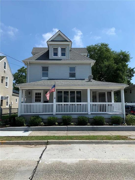 Perfectly Updated Colonial In prime Mid Block Location. Amenities Inc: Open Floor Plan, Granite EIK, Updated Heat and Gas, Park Like property 171' Deep!!!