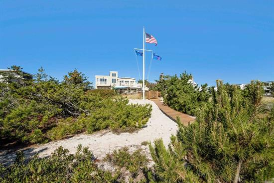 Majestically Situated On Protected Village Oceanfront, This Meticulously Maintained, Newly Renovated Home By Top Hamptons Builder Is Located Just A Short Distance From All Westhampton Beach Village Amenities. Unpretentious Sophisticaion Allows You To Relax And Enjoy This 5Br, 5.5Ba Turn-Key Home Which Offers The Perfect Answer For Either A Summer Retreat Or A Yr Residence. Enjoy Stunning Views Of The Atlantic Ocean And Sunsets Over Moriches Bay From Every Bedroom Replete With Private Terraces.