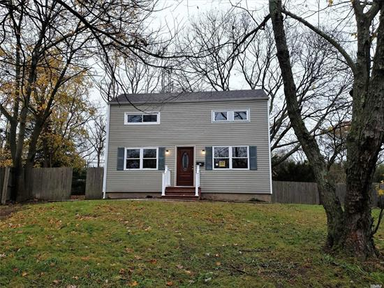beautifully remodeled saltbox offering 4 bedrooms 1 full bath, eik with stainless appl, livingrom, basement part finished can be a den with outside entrance, low taxes hurry this wont last