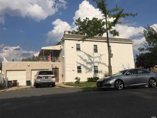 Excellent Colonial 2 family house in Floral Park with 4 Bedroom, 3 Full Bath, Kitchen, Living Room, Dining Room . Full Finish basement with 3 Rooms, Full Bath and OSE. Big Lot Size, corner property good for the large family. School District 26, Close to shopping and transportation.