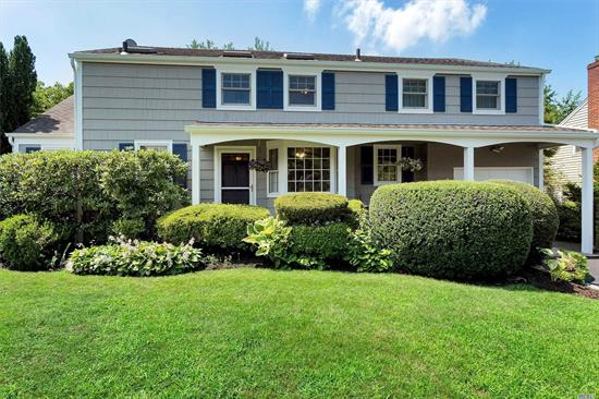 Beautifully Maintained Colonial With 4 Bedrooms And 2 Full Baths Located In The Desirable Harbor View Community. Featuring over 2, 750 sf., This Charming Bright Home Offers Spacious Living Room With Wood Burning Fireplace, Cheerful Eat In Kitchen, Formal Dining Room, Large Den With Wood Burning Fireplace And Lots Of Natural Light. Secluded Back Yard With In Ground Pool And Lush Gardens.