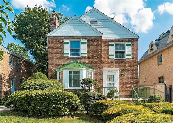 The possibilities are endless with this brick & frame colonial! A spacious home to begin with, being set on an over-sized lot provides the potential to expand and create the home of your dreams