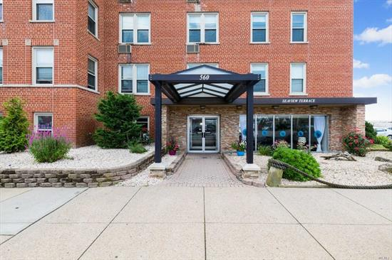 PLATINUM 2 bedroom, 1-1/2 baths in a Lovely Oceanfront Coop Bldg. Building features a Oceanfront Patio w/Barbeques. Absolutely Pristine, Totally renovated, Top of the Line. Storage and bike room in the garage.Laundry on Lobby Level.