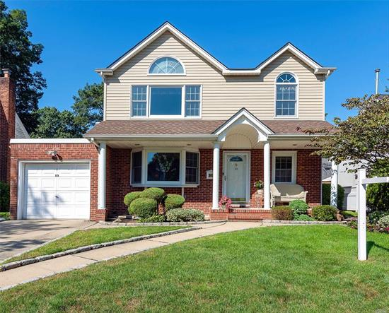 Sun-Drenched Spacious Colonial in Prime Prestigious Oak Section of NHP. Lowest Taxes you will see in the area with walking distance to schools, worship, shopping, transportation. Great flow through the house for entertaining, raising a family, and mid block location for the perfect location to be at. Come take a look before its too late! Manor Oaks Schools & upgraded 200 Amp, 4 Zone Heat for Efficiency, Gas cooking, Alarm, Fireplace, Skylights. Most convenient location to live for years!!