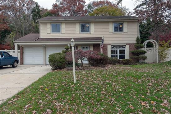 Beautifully Redone Colonial Splanch. Big Open Floor Plan. Cambria Elite Quartz Counter tops. Huge Kitchen Island With All New Stainless Steel Appliances. Enormous Living Room With Wood Burning Fireplace & Wet Bar Perfect for Entertaining Guests. Large Master Bedroom Featuring His/Her Closets & Walk in Closet. Backyard Features Patio & Gazebo for BBQ. Energy Efficient Central Air Conditioning & Heating System w/ 3 Heating Zones. New Washer/Dryer. Available With or Without use of 2 Car Garage.