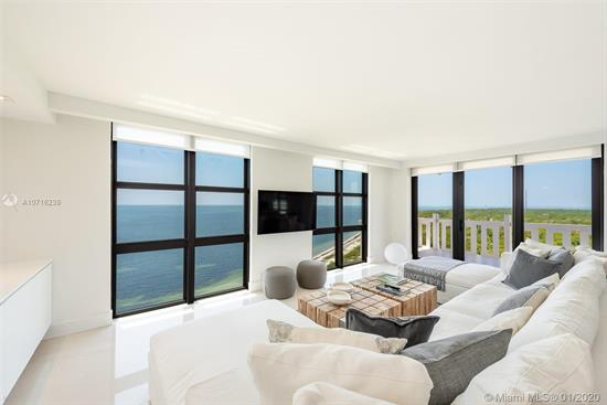 Located In Prestigious Oceanfront Towers Of Key Biscayne, Enjoy B01 The Best Line Of The Building. 11Th Floor! Amazing & Unique Direct Ocean & Bill Bags Cape Florida State Park Views. Enjoy The Ocean, The Reserve & The Lighthouse From Your Balcony & The Entire Apartment!. Unit Has Been Complete Renovated With The Best Quality And Taste. Ample Living Room. 2 Full Bedrooms, 2 Full Baths Plus Enclosed Den!!! Open Kitchen With All New Black Appliances. Enclosed Laundry Room With Sink. Private Balcony With No Neighbor Views! Hurricane Windows. New Shades & Blackouts. Just The Sea And The Reserve!! One Assigned Covered Parking Space On The Upper Floor. Assessments Had Been Paid!! Unit Has Been Decorated By A Prestigious Argentinian Decorator, Furniture Can Be Included In The Sale. Easy To Show