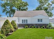 Welcome Home to this Beautifully renovated expanded cape from top to bottom, This bright & airy home features granite/ss kitchen, gas heating & cooking, den with stone fpl, Massapequa SD, Convenient to all