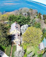 Water View Point Place Estate-Over 2 Lush Acres Overlooks Mt Sinai Harbor, Built In The 1700'S. Pristine & Meticulously Restored Hm. Features Original Woodwork & Wide Plank Floors, Stunning Master Suite, Pool House W/ Ig Gunite Pool, 2 Story (32'X 44) Barn with 2 stalls, Garage, Chauffeur's Quarters, Studio Apartment & Greenhouse.
