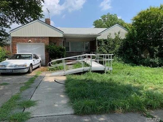 Home being sold as is with contents. No representations or guarantees. Very little is known about the property as this is an estate sale. An opportunity to renovate and make this house your home.