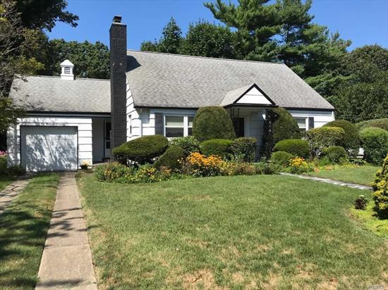 Picturesque Cape on Private, Manicured Lot. Add Your Personal Touches to Make This Yours. Newer Roof, Windows and Hot Water Tank.
