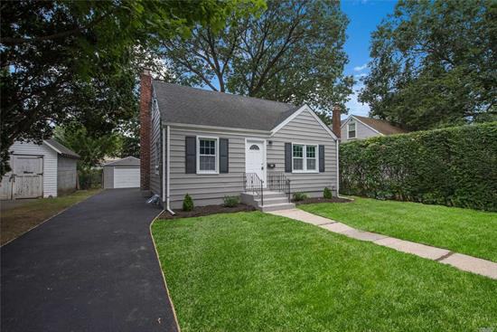 Don't miss this 4br 1 ba cape. Home features white shaker kitchen, quartz counters, SS appliances. Hand scraped floors throughout. Updated electrical. Back deck perfect for entertaining. Close to parkway.