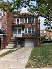 2 Family- great income producing home! 8 bedrooms, 3 full baths, 2 half baths, side parking for 3 cars, solid brick, 1 car garage with private driveway, each apt. is a duplex