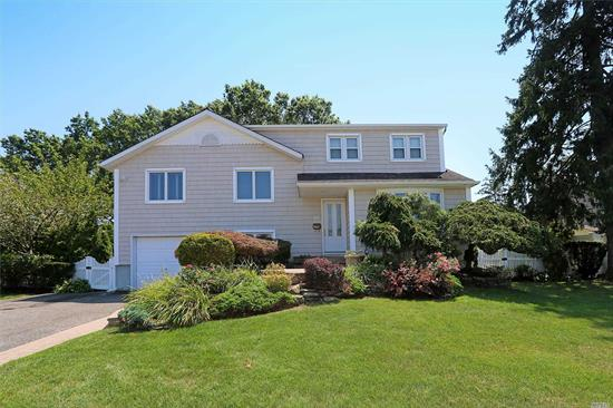 Beautiful Large 5 Bedroom Split in N. Massapequa, Plainedge Schools. Open Kitchen Leads to Formal Dining Room, Sliding Glass Doors from Dining Room Opens To a Two Tier Deck Great For Entertaining! Master Bedroom with full bathroom, 4 bedrooms and full bathroom. Great Family Room with Office & Half Bath. Central A/C, IGS, Newer Roof, Well Maintained Property!